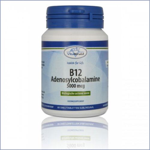 B12 Adenosylcobalamine 5000µg