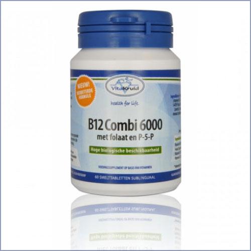 B12 Combi 6000 Met Folaat En P5P