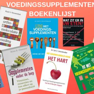 Voedingssupplementen Boekenlijst
