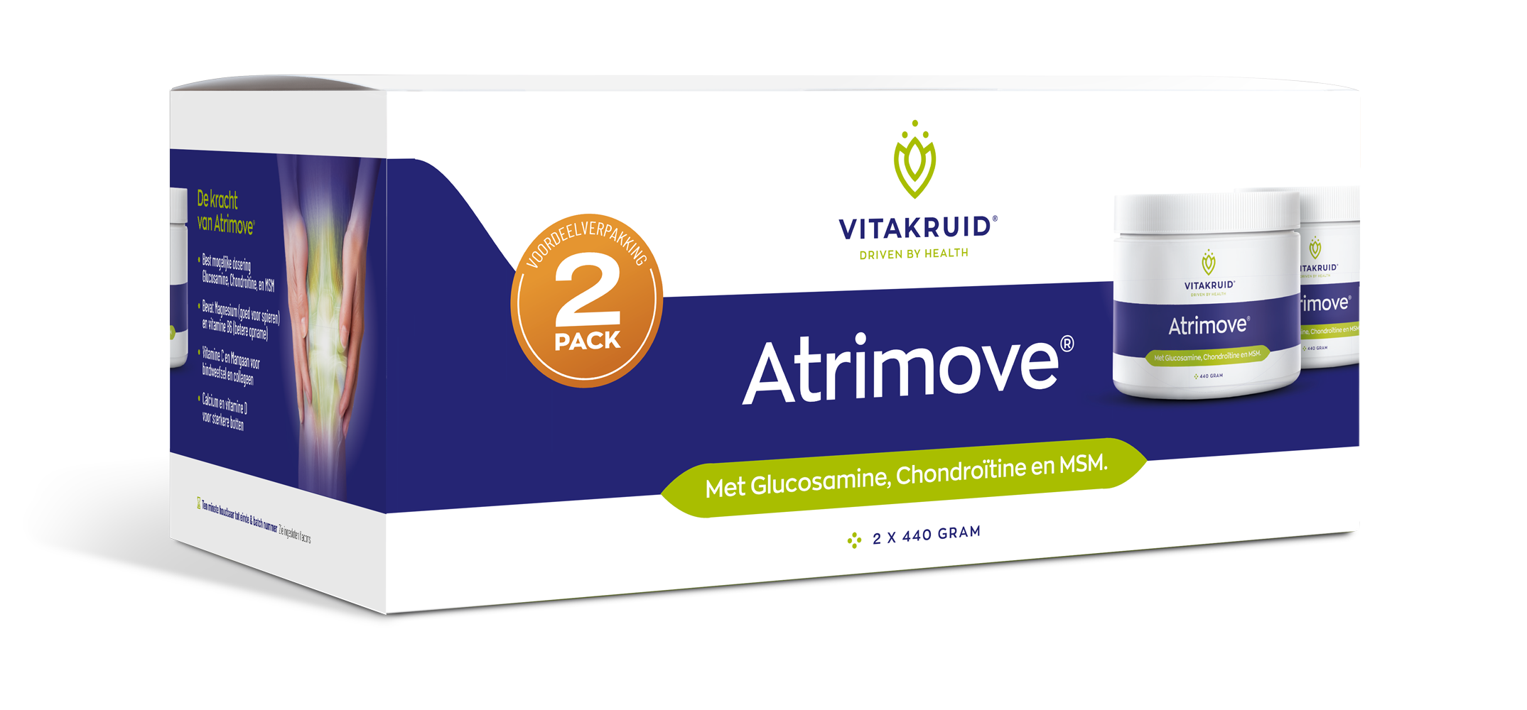 Atrimove Granulaat 2 pack Vitakruid