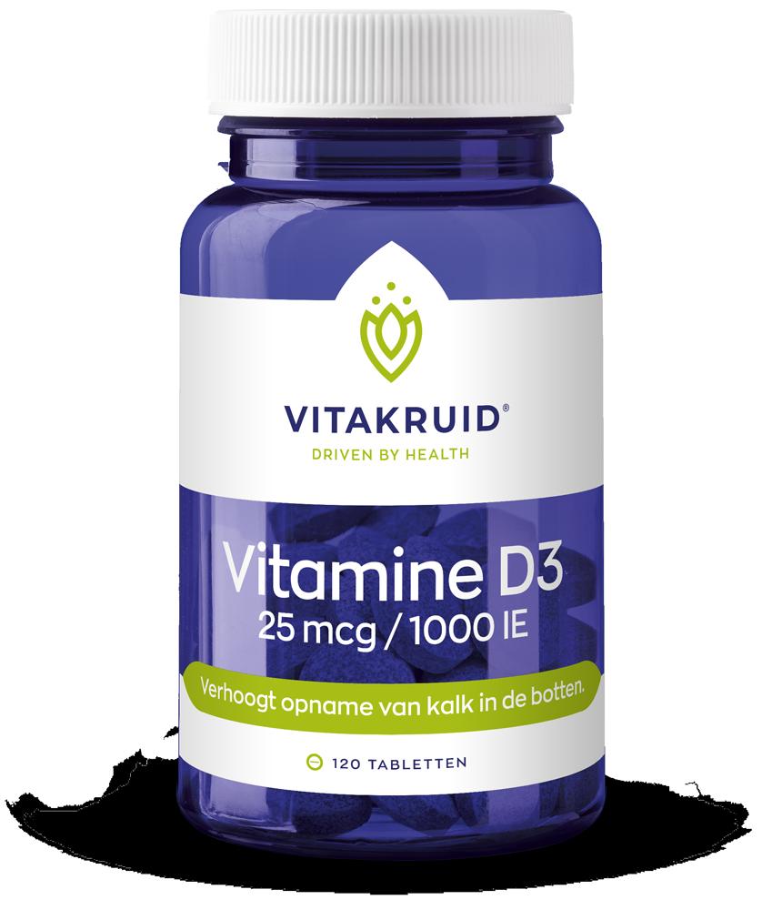 Vitamine D3 – 25mcg