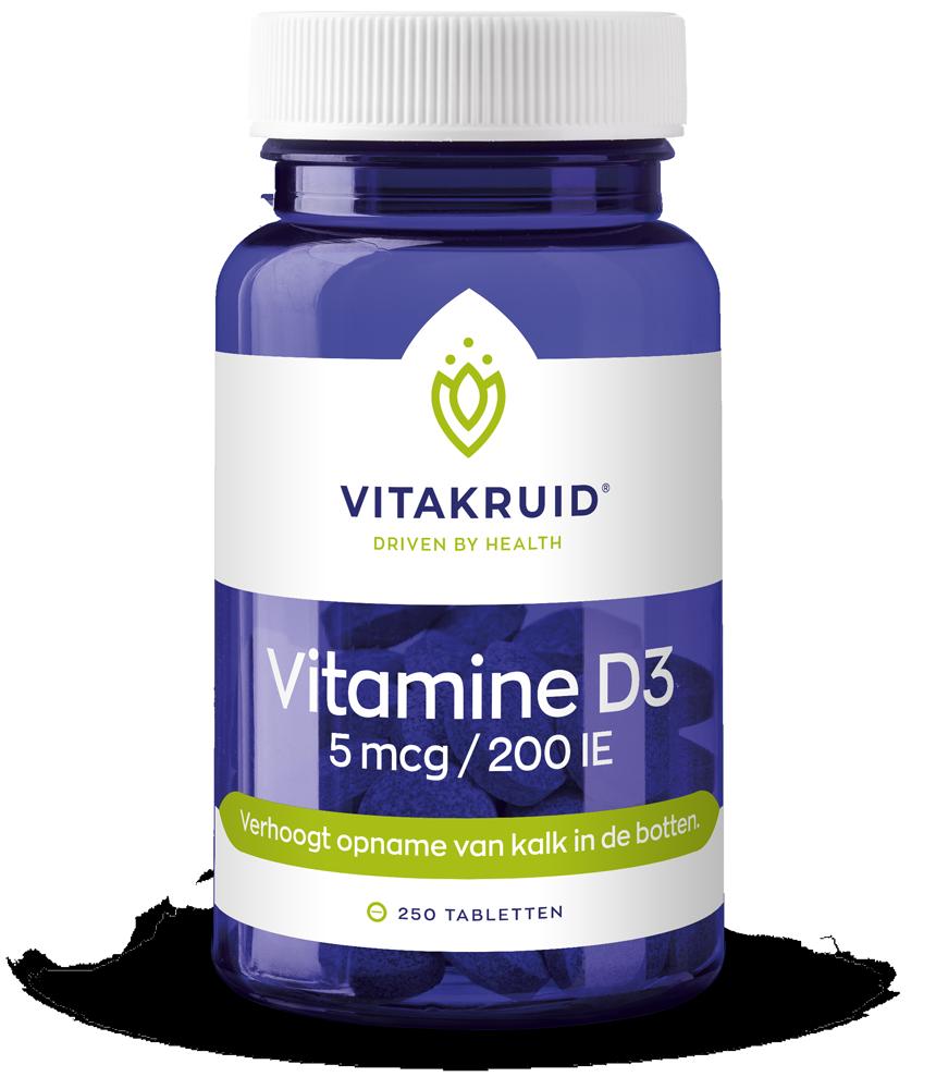 Vitamine D3 – 5 Mcg