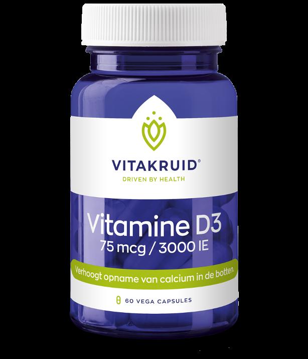 Vitamine D3 75mcg