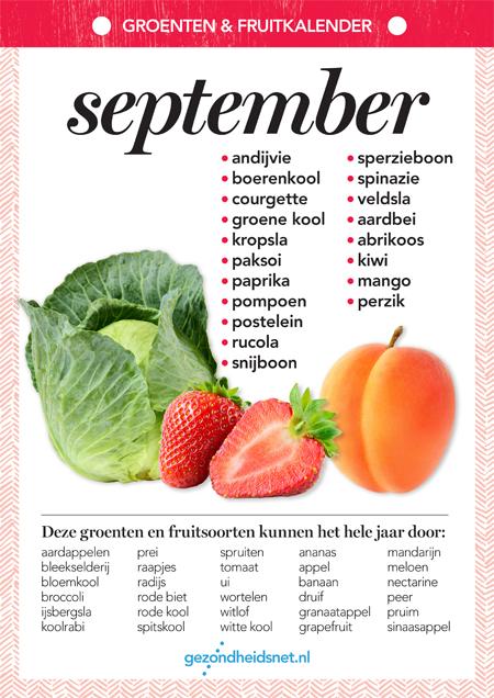 groente september