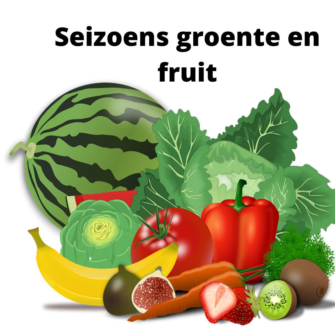 Seizoensgroente En Fruit